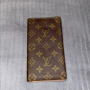 Louis Vuitton Bifold Bill Wallet (Long)